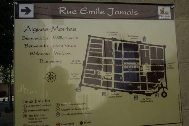 mappa Aigues-mortes
