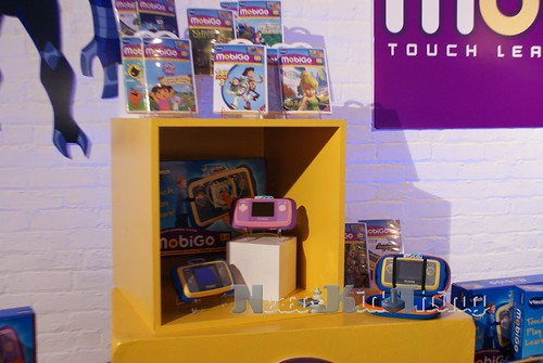 Vtech MobiGo at ToyFair