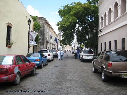 Una de las primeras calles de AMERICA