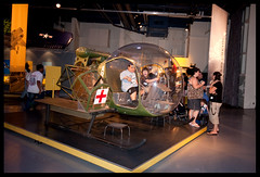 Bell 47 D/ H-13 Sioux (US Army) (Nancy F photos) Tags: nyc newyorkcity newyork chopper manhattan helicopter intrepid aircraftcarrier usarmy firstaid sioux intrepidmuseum ussintrepid armyhelicopter armychopper firstaidhelicopter firstaidchopper armyfirstaid