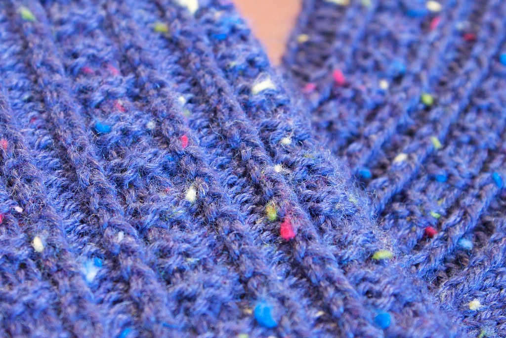 Retro Rib Socks: stitch pattern