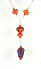 """Chainlinked Bead Necklace • <a style=""""font-size:0.8em;"""" href=""""https://www.flickr.com/photos/37516896@N05/4394843720/"""" target=""""_blank"""">View on Flickr</a>"""