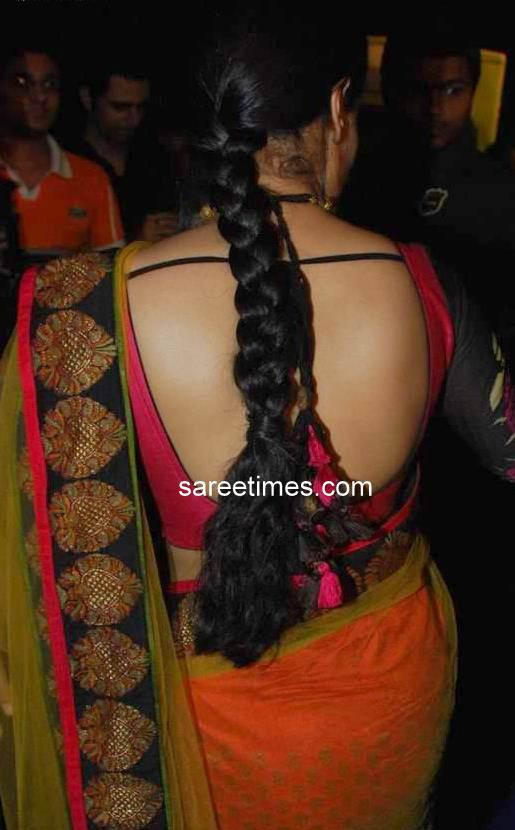 back designs for saree blouses. Saree Blouse Design for Back