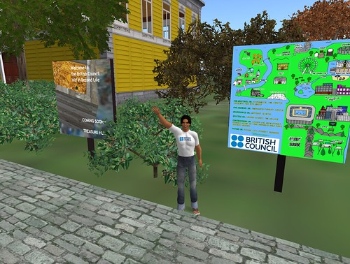 One week in my Second Life (by Baldric Commons) - Teaching