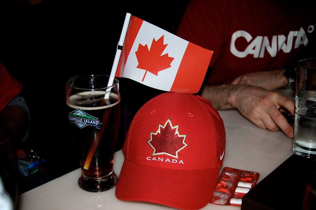 Beer, Flags, n Schwag