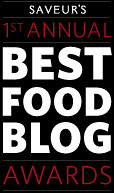 Finalist for Best Food Photograhy on Saveur!