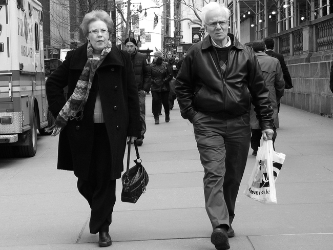 Odd couple, NYC