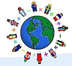 World Maths Day Logo