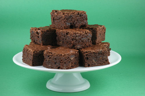 Girl Scout Thin Mint Brownies