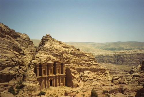 Three wonders of Jordan - Petra