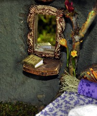 Fairy House Detail with Book