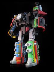 The Junction (8) (frenzy_rumble) Tags: thomas junction custom hiro autobot percy decepticon kitbash gestalt thomasthetrain articulation combiner frenzyrumble