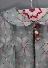 Baptism coat detail