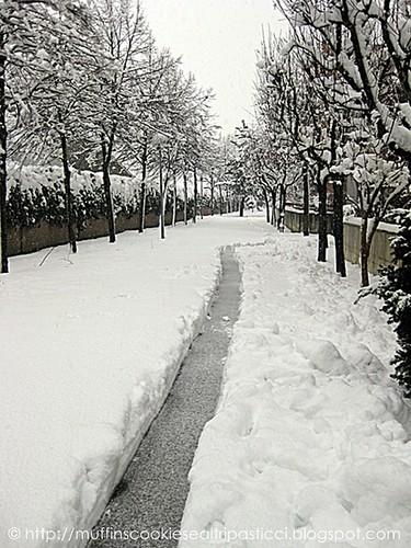 Tunnel nella neve