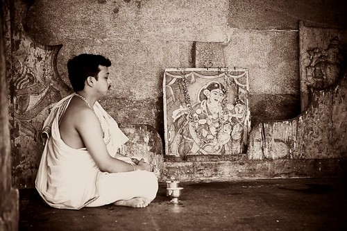 Meditating - Chitra Aiyer Photography