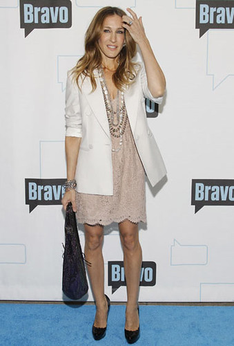 Sarah Jessica Parker at Bravo's 2010 Upfront Party at Skylight Studio