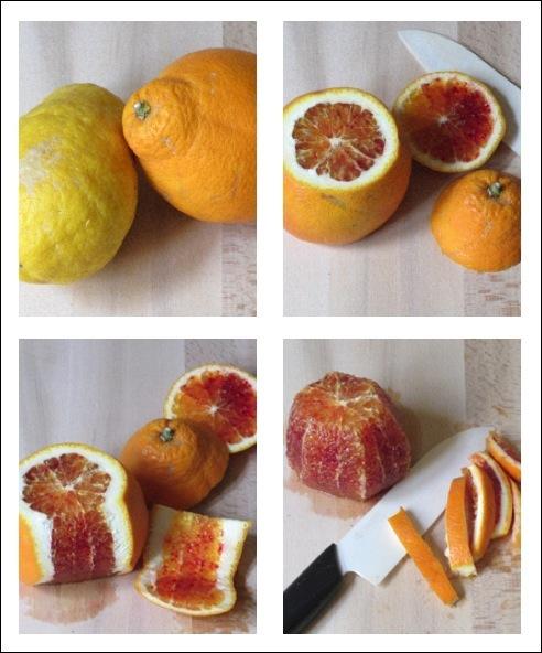 Taglio arancia