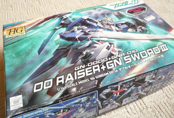 First Impressions: HG 1/144 GN-0000 00 Raiser