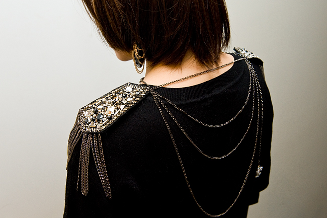 Fashion Infusion DIY chain harness