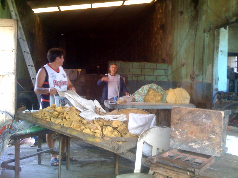 Tortilla making in Yucatan
