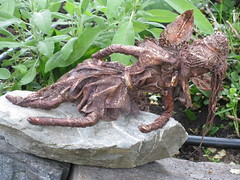 Fairy Garden Sculpture (maureenlafleche) Tags: sculpture art garden fairy workshop gardenart gardensculpture gardenspirits ritawildschut gardenspiritssculpture gardenspiritssculptureworkshop
