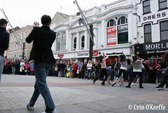 IMG_6443 (FreckledPast) Tags: ireland irish dancing cork jets musical sharks flashmob westsidestory corkcity republicofireland streetdancing corkoperahouse brownthomas evinokeeffe dauntssquare