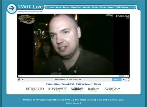 Me on TWiT Live