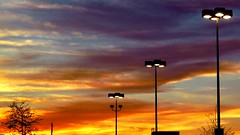 dusk (David Adam Salinas) Tags: clouds digital dusk lightposts davidsalinas canong10