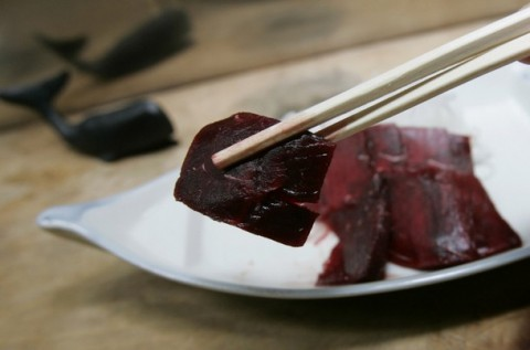 Kujira (Whale Meat) - Weird Japanese Food - A Top 10 List of Strange Foods from Japan
