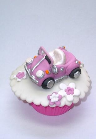 pink car!!