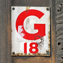 G 18 (Leo Reynolds) Tags: canon eos iso400 number marker f56 18 eighteen group9 groupnine markersquared 0004sec 190mm 40d hpexif xsquarex xleol30x