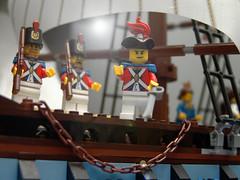 "(Joriel ""Joz"" Jimenez) Tags: macro lego pirates armada filter lensflare imperial flagship smle brickarms"