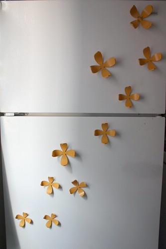Fridge with Umbra Wallflower