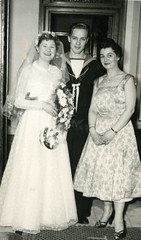 Image titled Margaret Nevitt And Bob McPhee, wedding in C'Adorra 1956