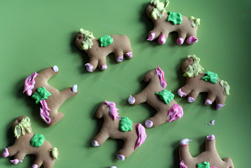 decorated animal crackers