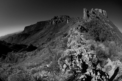Chisos Mountains from Lost Mine Trail