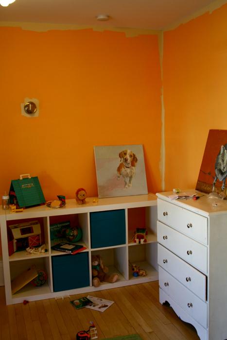 Finn's Room Yucky Orange