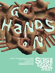 Sushi Homework, Fusion (Kyle J. Letendre) Tags: seattle chicago illustration digital photoshop kyle sushi print poster typography design photo graphic hey sake letter letterform freelance unconventional heykyle