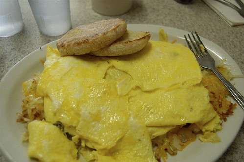 Beth's Cafe Six Egg Omelet