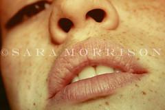 Lips and Freckles (Sara_Morrison) Tags: face closeup nose lips freckles viso naso faccia labbra lentiggini
