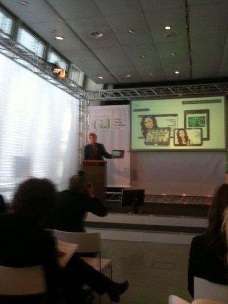 Neofonie WePad Bertelsmann Pressekonferenz