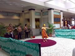Hula dance show