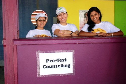 HIV screening pre-counseling volunteers
