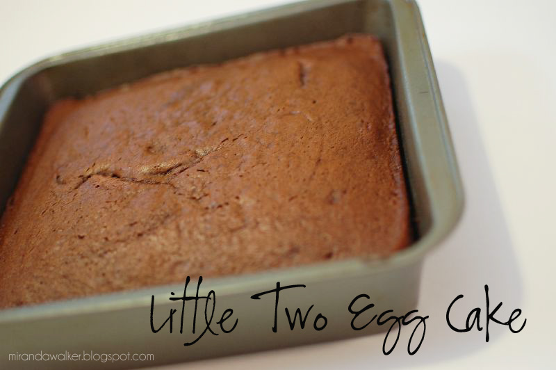 two egg cake