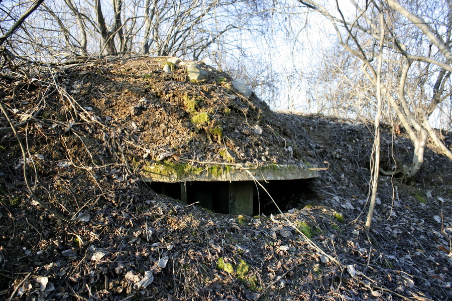 Bunker on the mountain