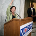 Rep. Mazie Hirono (HI) speaks at Forum, Voices' annual conference, where members gather to discuss policy, plan strategy, and inspire