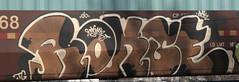 Rokse (Hear45) Tags: railroad minnesota graffiti minneapolis mpls spraypaint twincities mn freight aerosolart graffitiart 612 fr8 rokse benching freightart