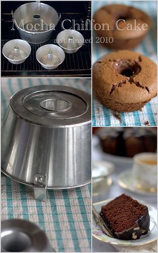 gluten-free mocha chiffon cake