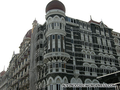 Another picture of the sprawling Taj Hotel
