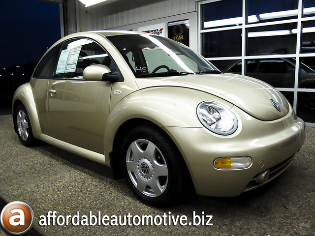 new 2001 volkswagen beetle